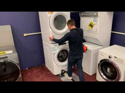 How To Safely Move Stacked Laundry Equipment With An Airsled