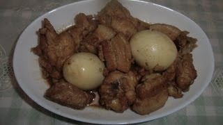"""chicken/pork Adobo"""