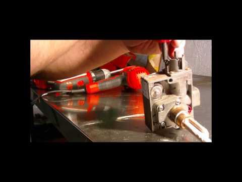 Scaldabagno valvola di controllo del gas termostato for Scaldino a gas ariston