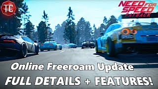 Need For Speed Payback: ONLINE FREE ROAM!! Multiplayer Update Full Info!