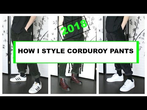 HOW TO STYLE CORDUROY PANTS | SPRING SUMMER 2018