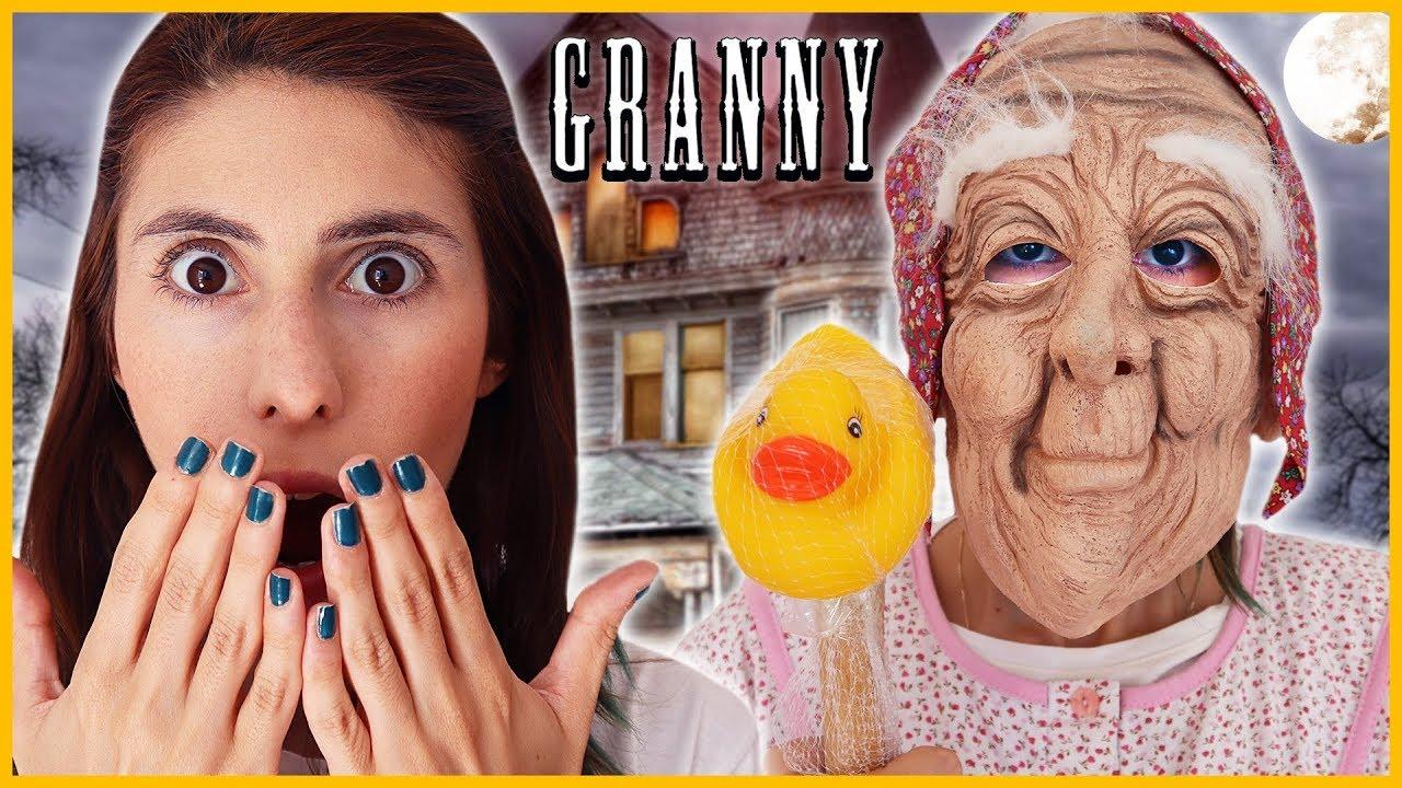 Gerçek Hayatta Granny Anneanneden Gizli Slime Dila Kent