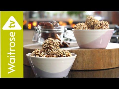 Date And Hazelnut Energy Bites | Waitrose