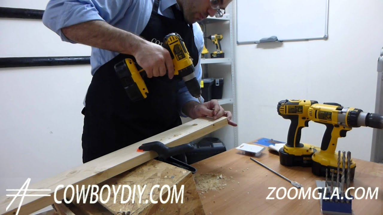 AWESOME DIY TIPS - HOW TO USE A DRILL/ SCREWDRIVER COWBOYDIY COM