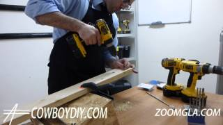 Awesome Diy Tips - How To Use A Drill/ Screwdriver Cowboydiy.com