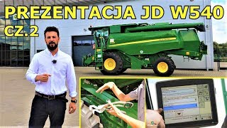 John Deere W540 - Przedstawienie Kombajnu Nowemu Właścicielowi Cz.2 (Prezentacja) ||55