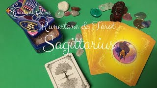 Sagittarius Runestone&Tarot Intuitive Reading for June 16 - 30, 2017 by Spiritual Gems