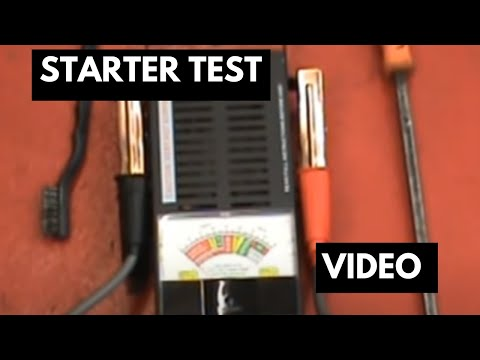 1973 Corvette Alternator Wiring Diagram Starter Test Check To See If You Have A Bad Starter