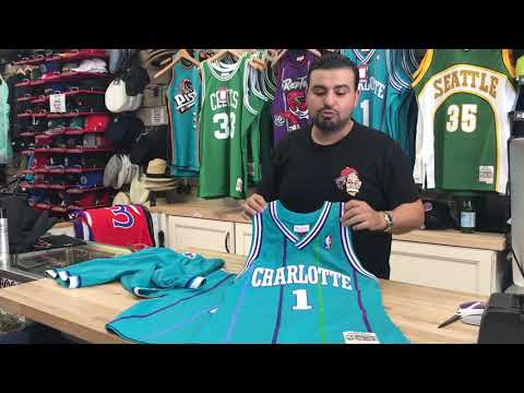 💯 Mitchell and Ness Swingman Jersey Matching Swingman Shorts Review