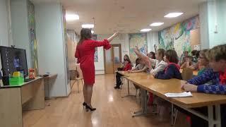 Встреча с Екатериной Тимашпольской. Веселый урок Кати Ершовой,. РГДБ-2018