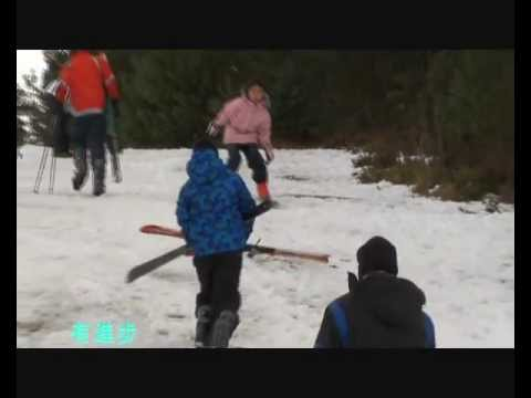 Scotland Aviemore - First time skiing
