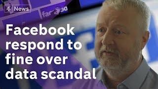 Facebook respond to facing £500k fine over Cambridge Analytica scandal
