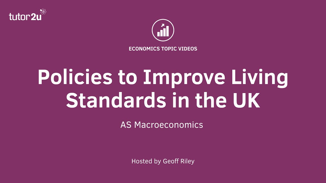 measuring the standard of living tutor2u economics