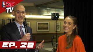 Adam Silver and the NBA 2K League Draft - NBA 2KTV S4. Ep.29