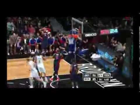 NBA CIRCLE - Detroit Pistons Vs Brooklyn Nets Highlights 24 Nov. 2013 www.nbacircle.com