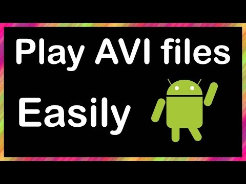 how to play avi files on android phone