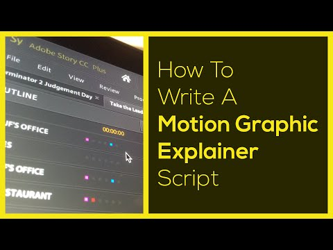 How to Write a KILLER Explainer Video Script