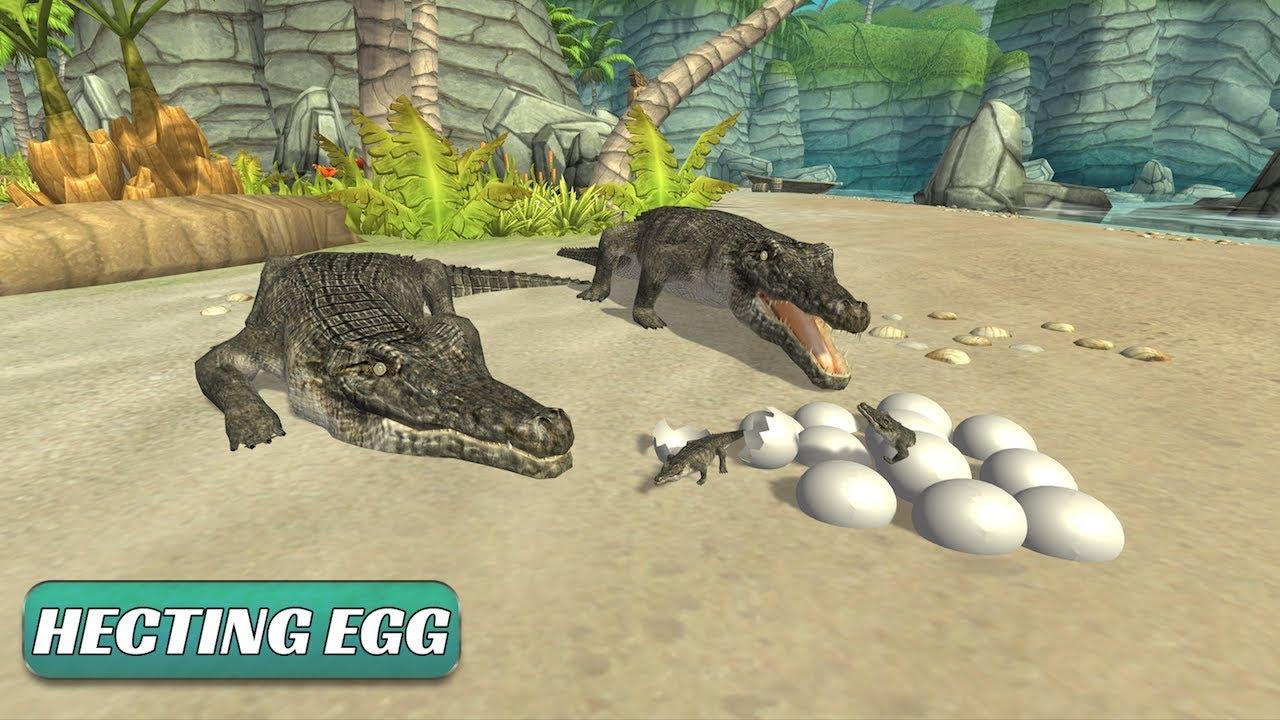 🐊Crocodile Simulator Attack 3D-Симулятор Kрокодилов-By Zekki Games  Studio-Android