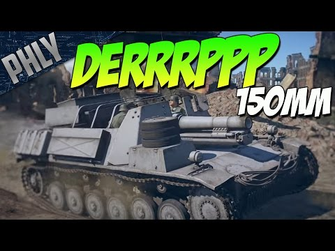 STURMPANZER II - Germany's New 150MM DERP (War Thunder 1.67 Gameplay)