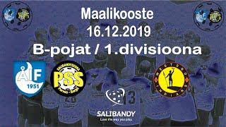 Maalikooste ÅIF/PSS - Indians (B-pojat 1.divisioona 16.12.2019)
