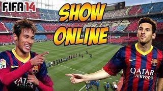 PS4 | FIFA 14 (Online) - Barcelona x Real Madrid - Show de Neymar e Messi