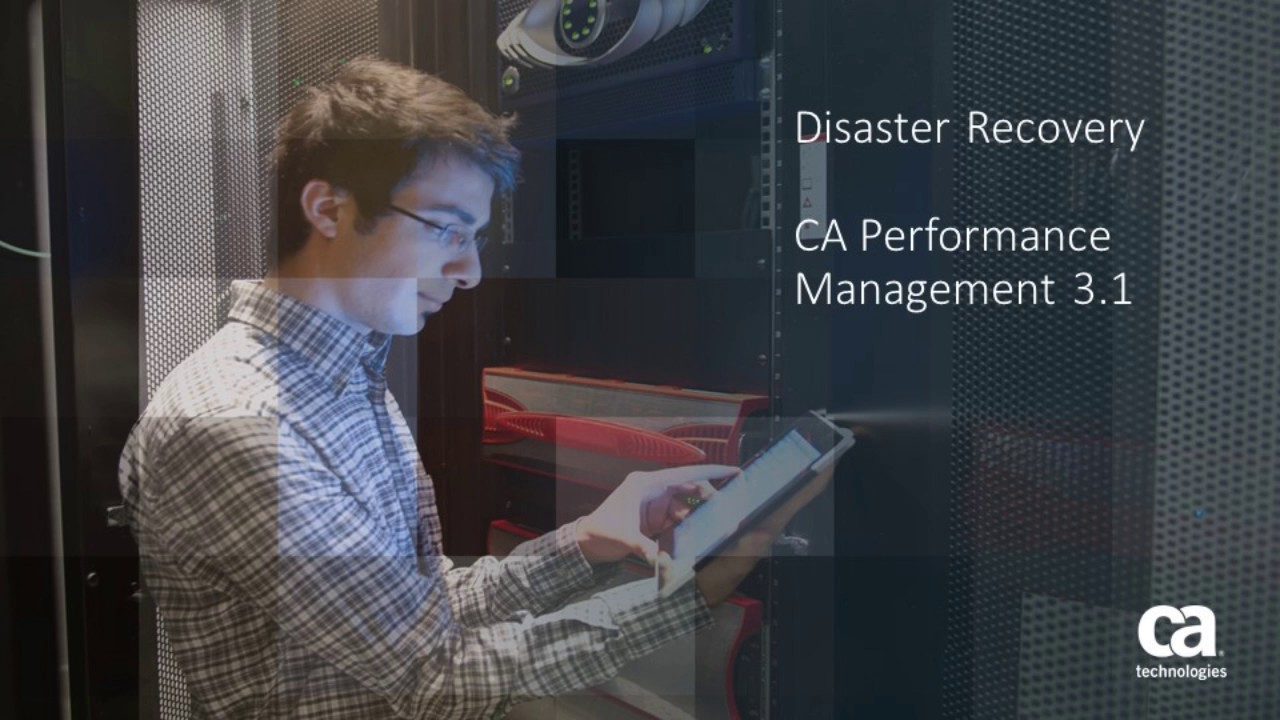 Disaster Recovery - CA Performance Management - 3 1 - CA