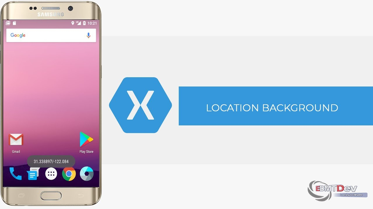 Xamarin Android Tutorial - Google Location Update from Background