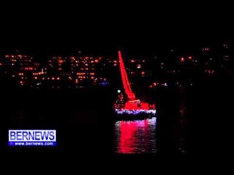 RHADC In Bermuda Boat Parade, Dec 7 2013