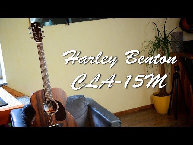 Harley Benton CLA-15M - Acoustic Guitar Demo