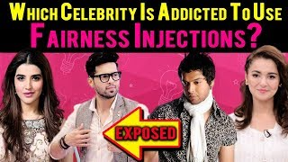 Which Celebrity Is Addicted To Use Fairness Injections? Exposed | Express Ent