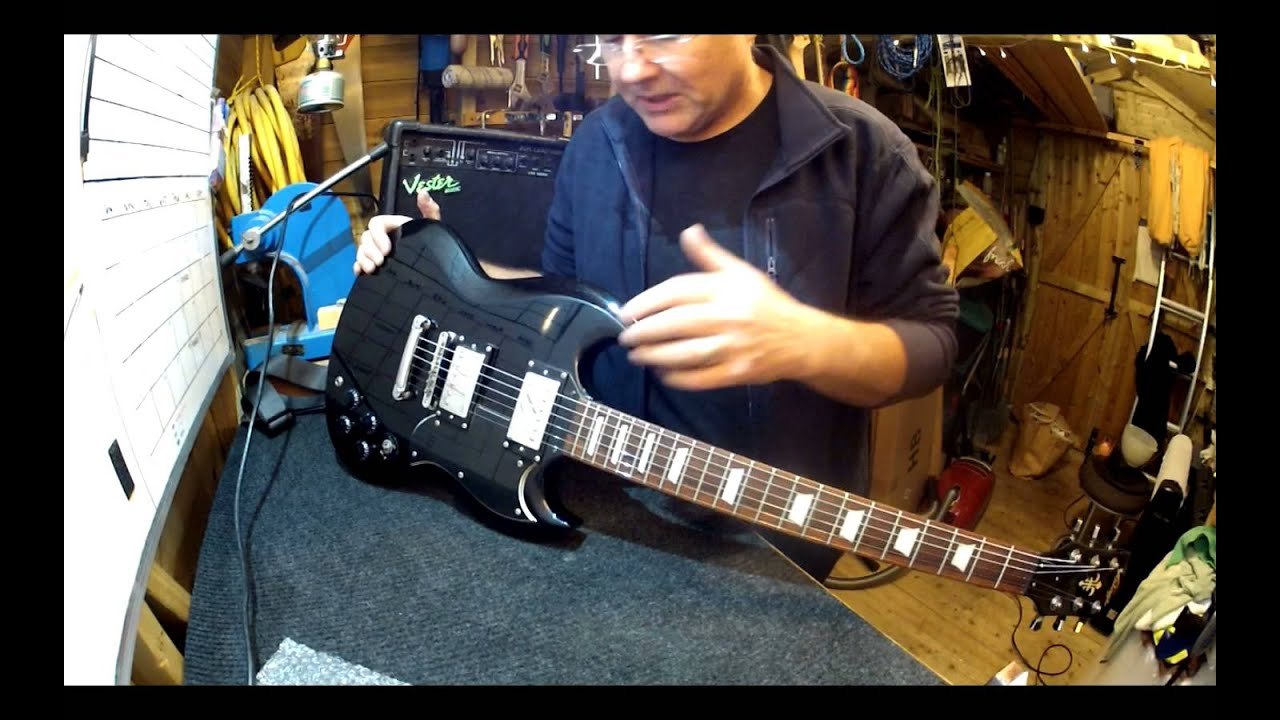 Vintage SG pickup upgrade and setup - YouTube