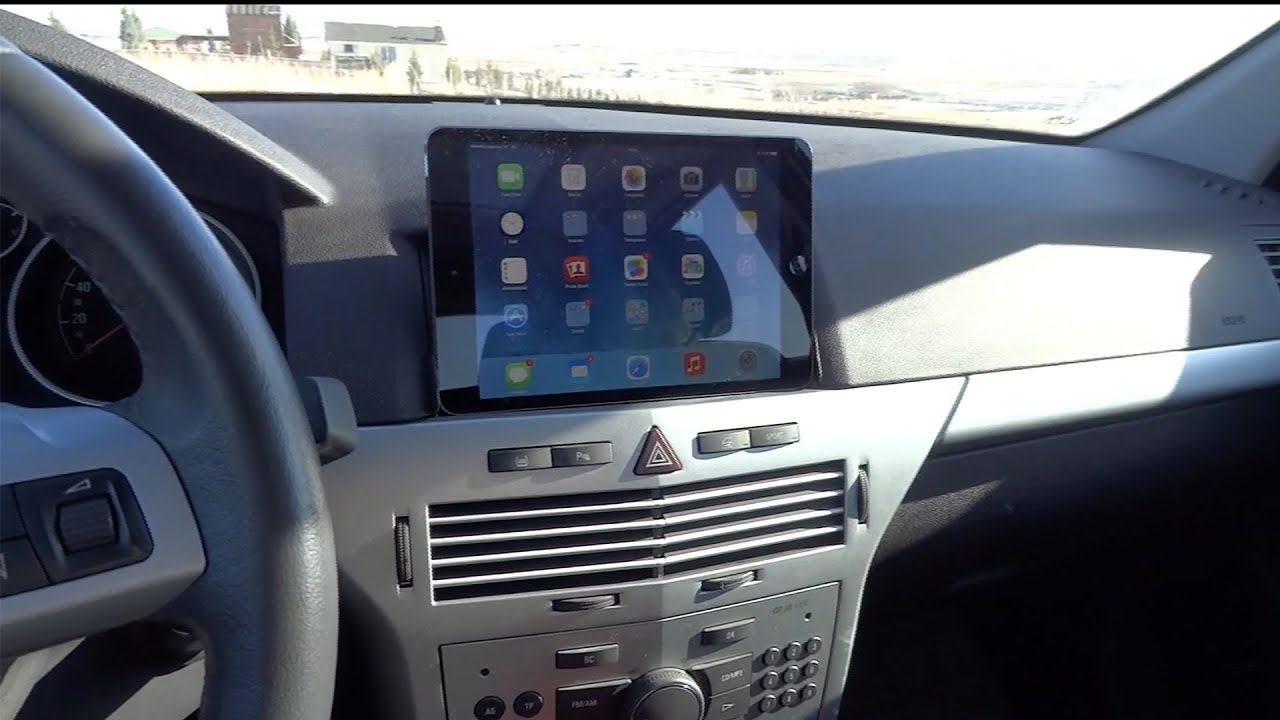 Opel astra ipad ve iphone entegrasyonu youtube for Astra h tablet install