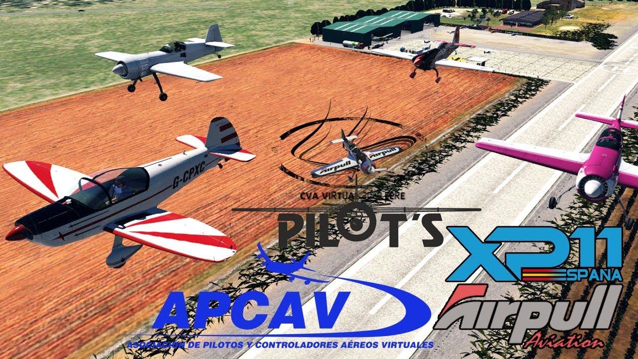 XPlane 11 Film  CEVA Virtual  Spot  FlightSim Planet
