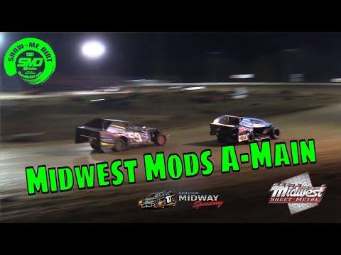 Midwest Mods A-Main Malvern Bank Cash Money SuperDirt - Lebanon Midway Speedway 10-19-2019