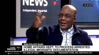 Home Affairs to process arrested illegal migrants documentation