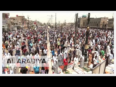 Iraqis protest in Baghdad over power, water cuts in heat wave