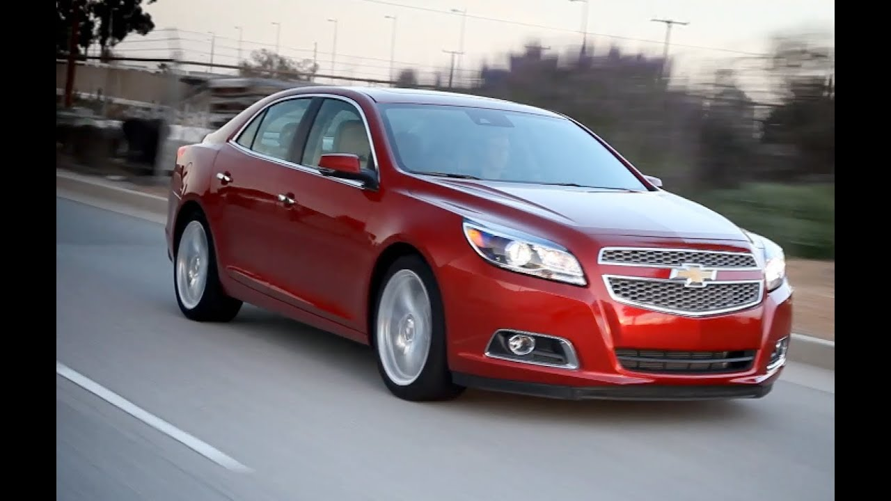 2013 Chevy Malibu Review - Kelley Blue Book - YouTube