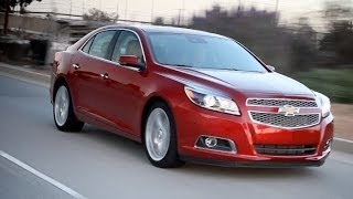 2013 Chevy Malibu Video Review - Kelley Blue Book