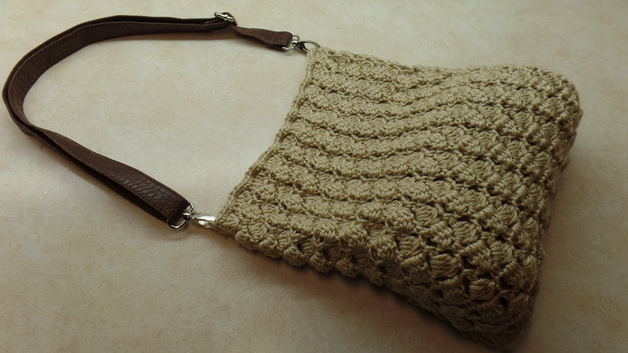 Crochet Bag Tutorial : CROCHET How To #Crochet (SideSaddle Stitch) #Handbag #Purse #TUTORIAL ...