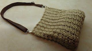 CROCHET How To #Crochet (SideSaddle Stitch) #Handbag #Purse   #TUTORIAL #309 LEARN CROCHET DYI