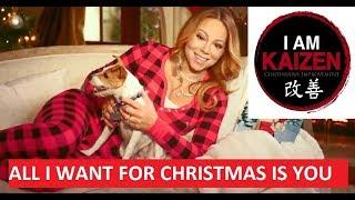 142 - Mariah Carey - All I Want For Christmas Is You- Kaizen Angol - rövid, ingyenes nyelvleckék