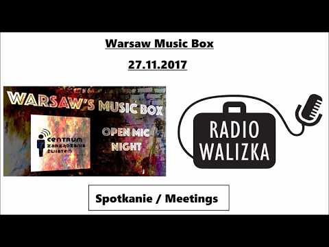 Warsaw's Music Box 27 11 2017. Meeting with musicians ... (in english and polish)