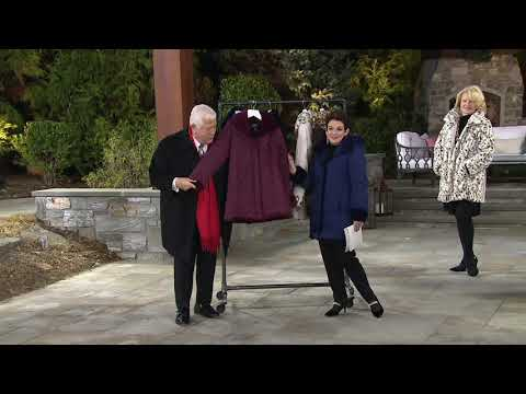 Dennis Basso Reversible Diamond Quilted and Faux Fur Coat on QVC 1f73fd81dd7ef