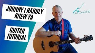 جوني أنا بالكاد كنت أعرف يا - درس جيتار - أغاني مشهورة في أيرلندا
