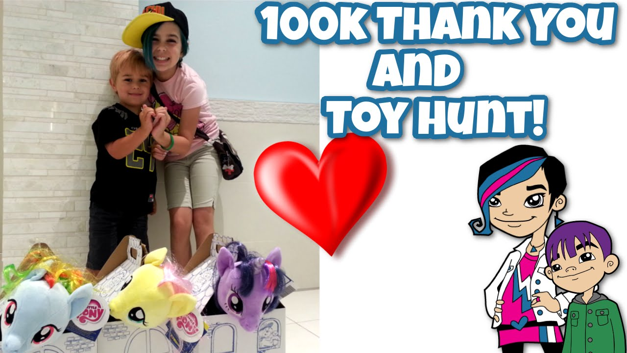 100k Youtube Subs Toy Hunt My Little Pony Lego And