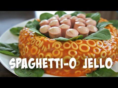 SpaghettiO Jello Mold Retro Recipe   You Made What?!