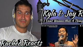 Coach Reaction - Kyla & Jay R - I don't wanna miss a thing