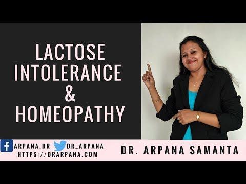 लैक्टोज असहिष्णुता या दूध की एलर्जी और होमियोपैथी दवाई  || LACTOSE INTOLERANCE & Homeopathy