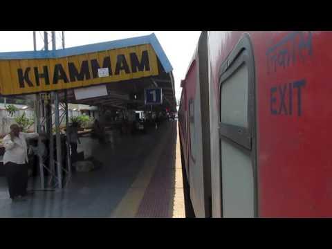 12389 Gaya-Chennai Egmore SF Express skipping Khammam, Telangana!