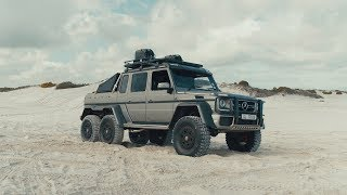 Mercedes Benz 6x6 Brabus - Just Like Papa Dune Day